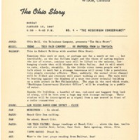 "0004 - The Ohio Story:  ""The Muskingum Conservancy"""